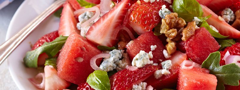 Strawberry Month Favorite Recipes   Summer Loving Strawberry Salad