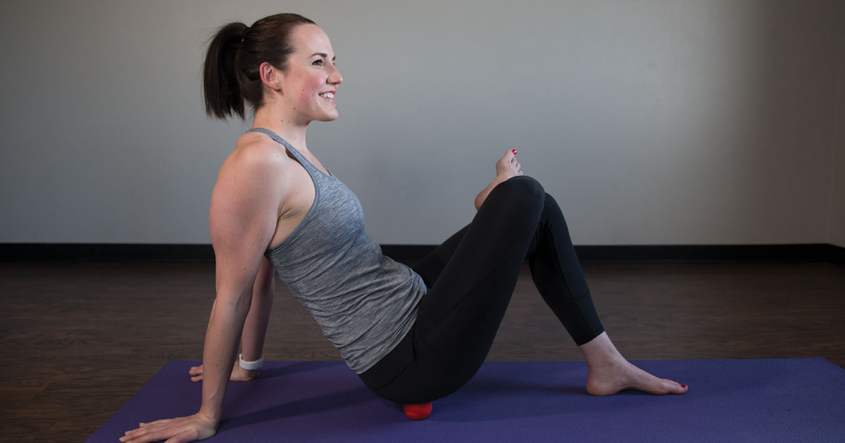 8 Mobility Ball Exercises to Relieve Sore Muscles