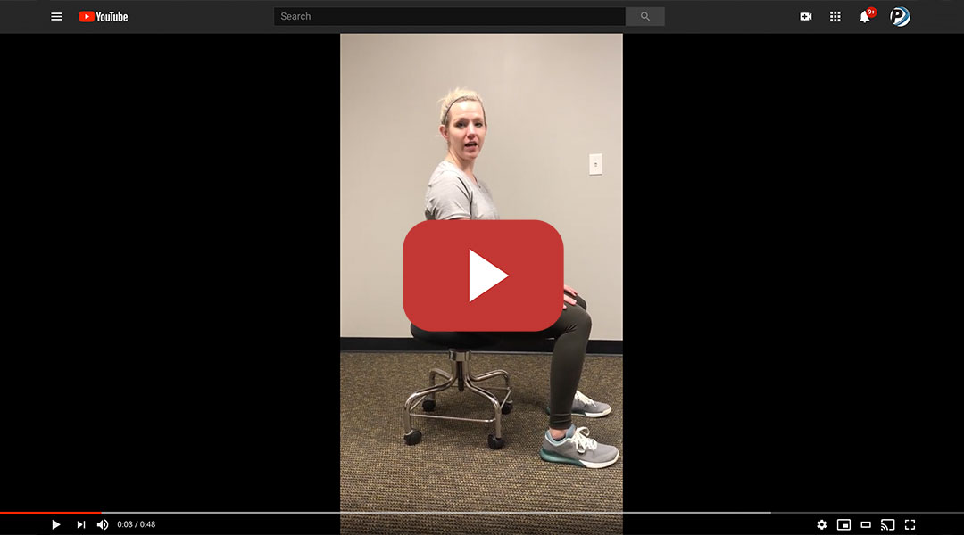 How to Find Neutral Spine Position While Seated