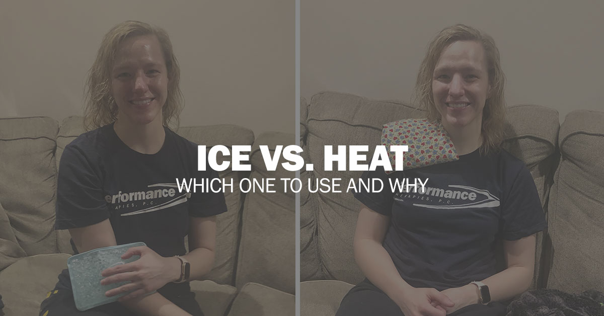 Ice vs. Heat – Which one do I use and why?