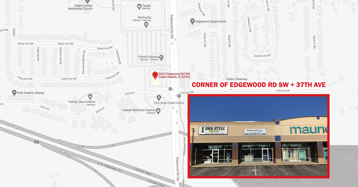 New Cedar Rapids Location